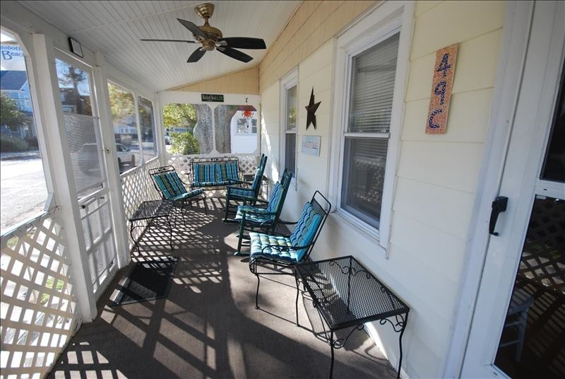 Front Screended Porch