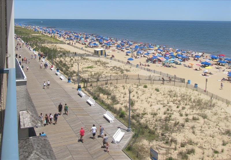 Beach and Boardwalk View