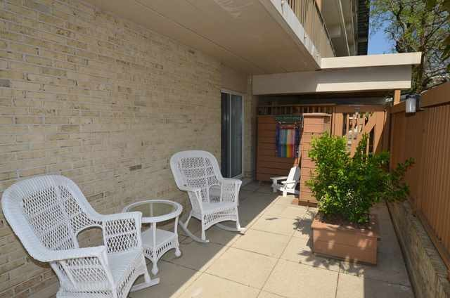 Side Patio - Patrician Towers #101